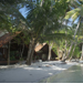 Deluxe Villa Santai is located at the far end of the South Beach. It is a short walk or water-taxi ride from the North Lagoon